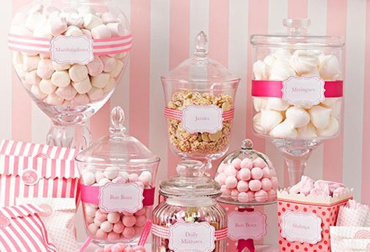 Sweet Table Candy Bar Dekoration Baby Belly Party