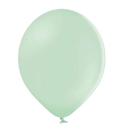 Standard-Luftballons - pastell pistazie - 30 cm - 10 Stück