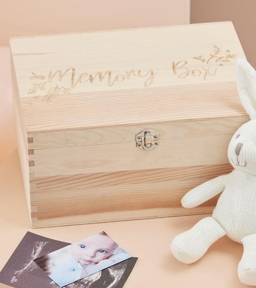 "Holz-Kiste ""Memory Box"" - 28 x 20,5 x 13 cm"