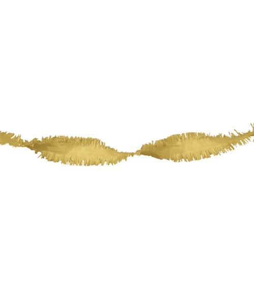 Drehgirlande 6 m - gold