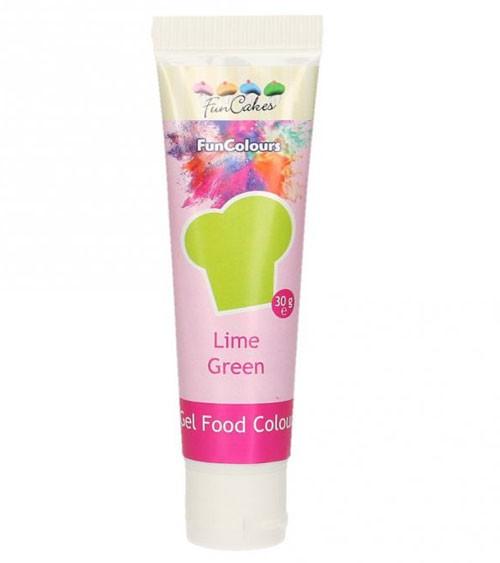 FunCakes Colour-Gel - lime green - 30 g