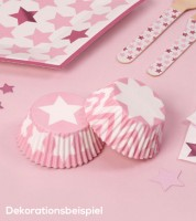 """Cupcake-Förmchen """"Little Star Pink"""" - 100 Stück"""