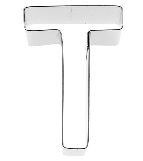 Ausstechform Buchstabe T - 6 cm