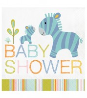 "Servietten ""Tierfreunde"" - BABY SHOWER - 16 Stück"