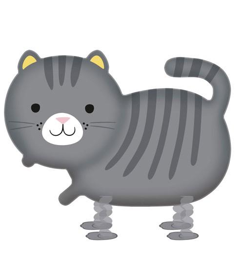 "Walking-Folienballon ""Cat"" - 75 x 52 cm"