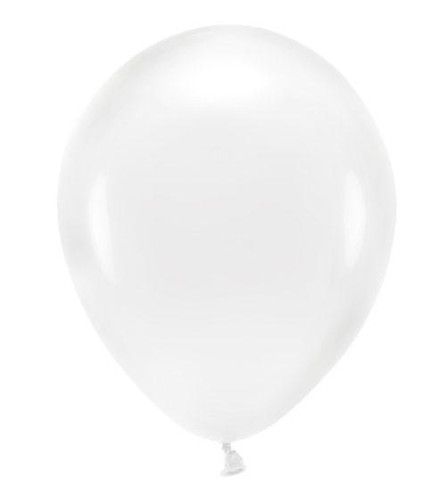 Standard-Ballons - crystal clear - 30 cm - 10 Stück