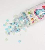 FunCakes Zuckerkonfetti - blau, grau, weiß -  60 g