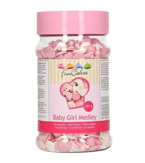"Funcakes Zuckerstreusel ""Baby Girl"" - 180 g"