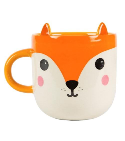 "Tasse aus Keramik ""Fuchs"""