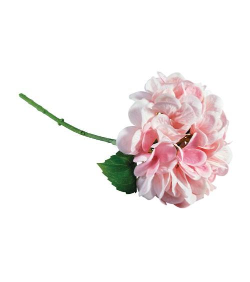 Künstliche Hortensie - rosa - 33 cm