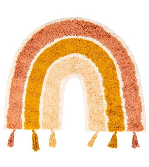 """Kleiner Teppich aus Baumwolle """"Regenbogen"""" - 50 x 60 cm"""