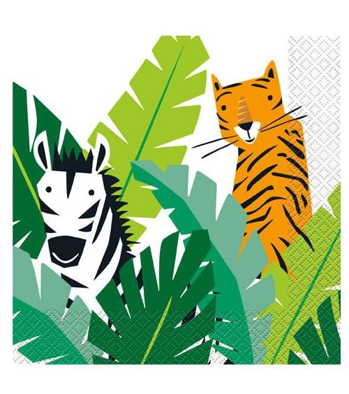 """Servietten """"Animal Safari"""" - 16 Stück"""