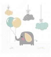 """Servietten """"Baby Elefant"""" - 20 Stück"""