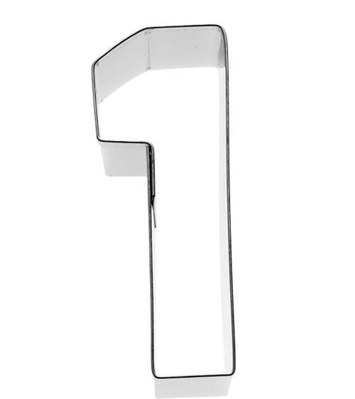 """Ausstechform Zahl """"1"""""""