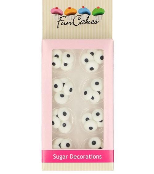 """Funcakes Zuckerdekore """"Runde Augen"""" - 32 Stück"""