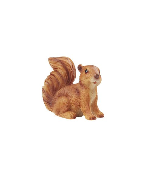 Deko-Eichhörnchen aus Poyresin - 4 x 3,5 cm