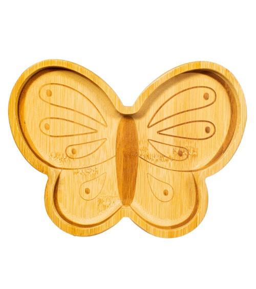 """Bambus-Teller """"Schmetterling"""""""