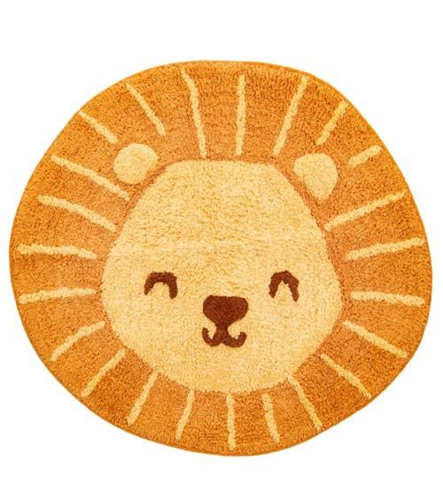 """Kleiner Teppich aus Baumwolle """"Löwe"""" - 59 x 56 cm"""