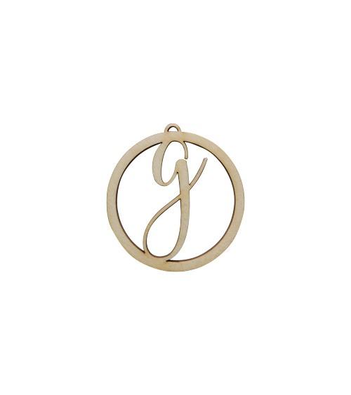 """Dein Deko-Buchstabe """"Ring"""" - Größe S"""
