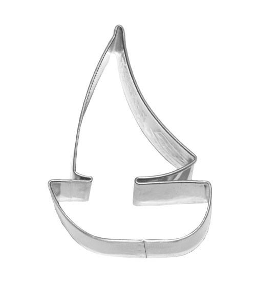 Ausstecher Segelboot