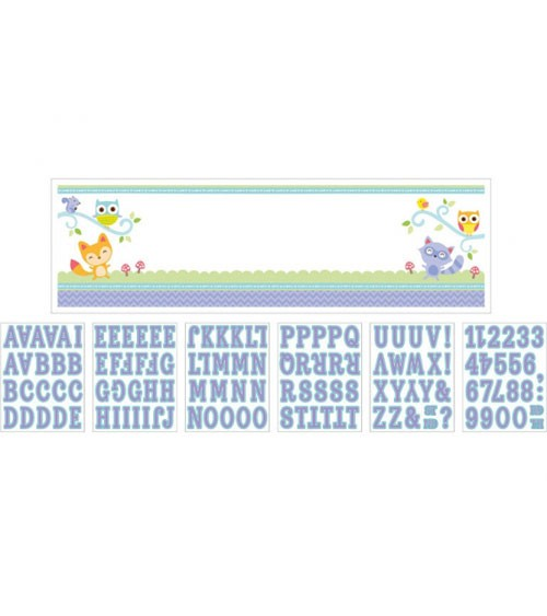 """Individualisierbarer Partybanner """"Welcome Baby"""" - 165 x 51 cm"""