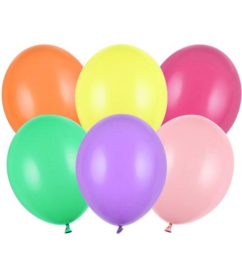 Standard-Luftballons - Farbmix - 30 cm - 50 Stück