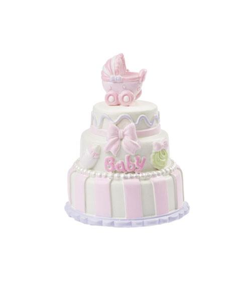 """Deko-Figur """"Baby Girl Torte"""" - 6 cm"""