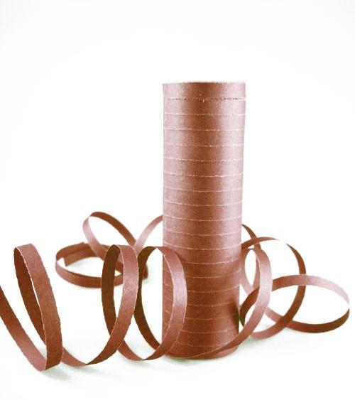 Papierluftschlange - braun