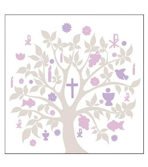 "Servietten ""Holy Tree"" - taupe - 20 Stück"
