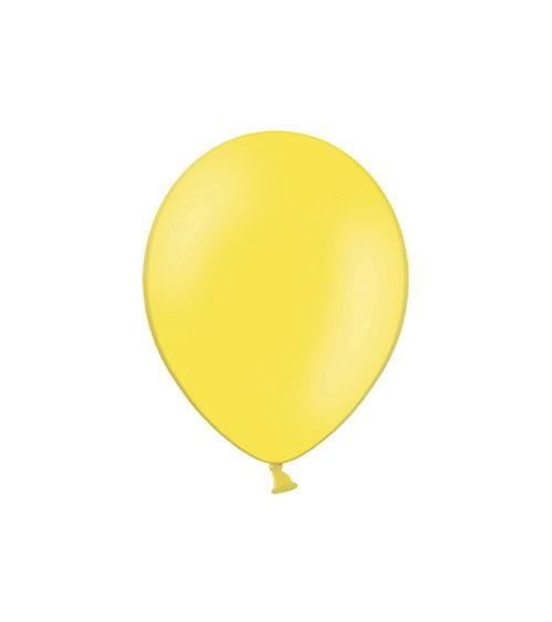 Mini-Luftballons - limonengelb - 12 cm - 100 Stück