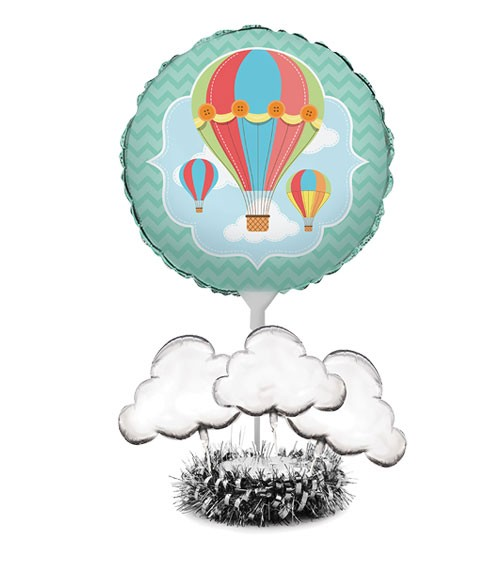 "Folienballon-Aufsteller ""Up, Up & Away"" - 6-teilig"