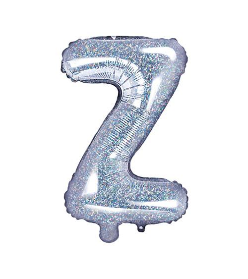 "Folienballon Buchstabe ""Z"" - holographic - 35 cm"