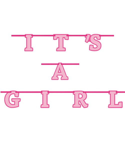 It's a Girl-Girlande - 2,13 m