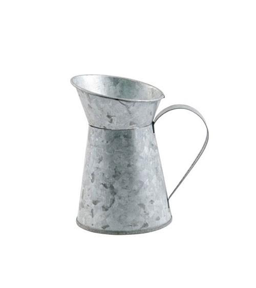 Deko-Milchkrug aus Zink - 7 x 10 cm