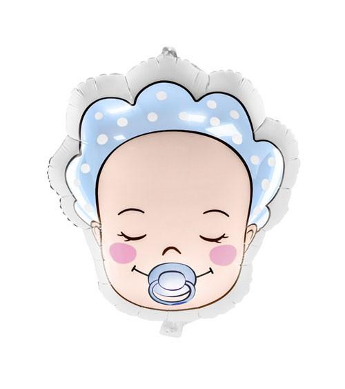 "Shape-Folienballon ""Baby Boy"" - 40 x 45 cm"