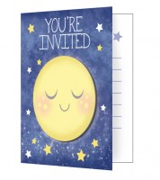 "Einladungskarten ""Moon and Back"" - 8 Stück"