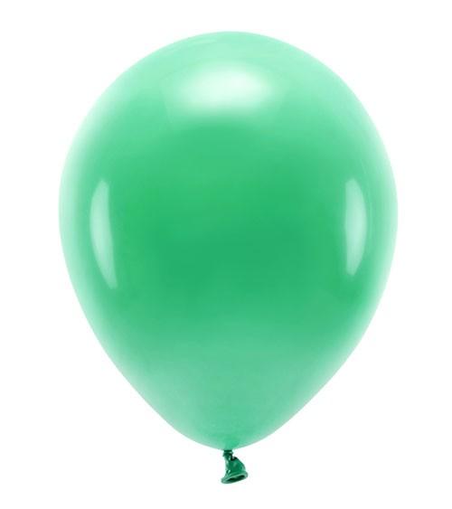 Standard-Ballons - grün - 30 cm - 10 Stück
