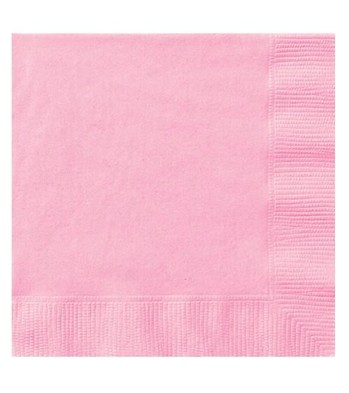 """Servietten """"Lovely Pink"""" - 20 Stück"""