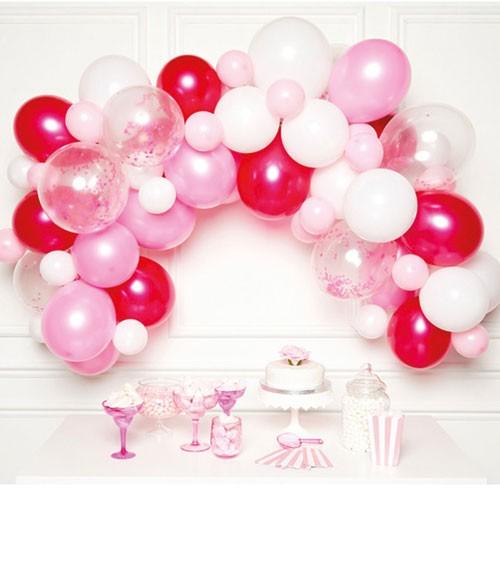 "Ballongirlanden-Set ""Farbmix Pink"" - 70-teilig"