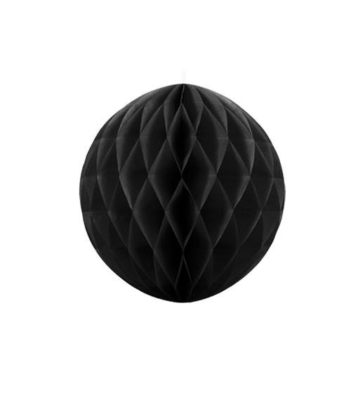 Wabenball - 10 cm - schwarz