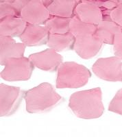 Rosenblätter aus Stoff - rosa - ca. 100 Stück