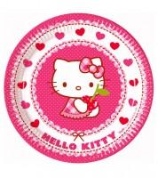 "Pappteller ""Hello Kitty"" - 8 Stück"