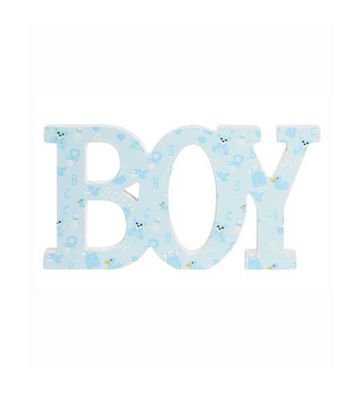 "Holzbuchstaben ""Boy"" - 28 x 14,5 x 2 cm"