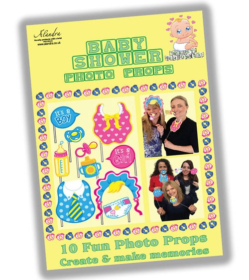 "Photobooth-Set ""Baby Shower"" - 10-teilig"