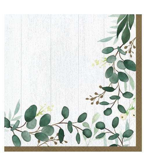 """Servietten """"Eukalyptus"""" - 16 Stück"""