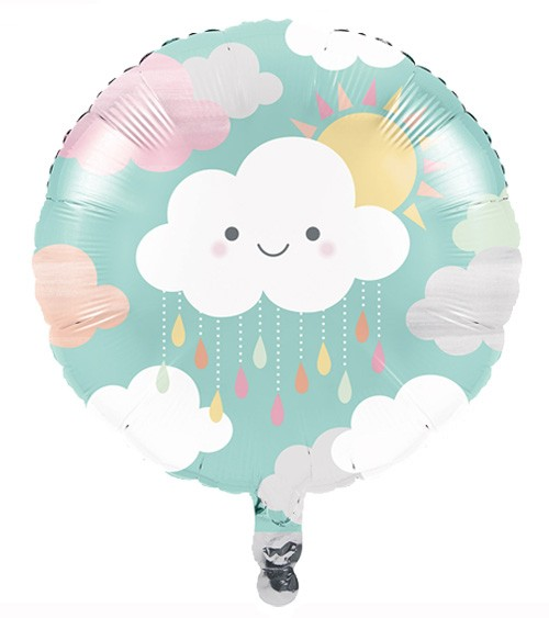 """Runder Folienballon """"Kleine Wolke"""""""