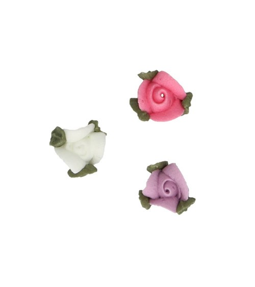 "FunCakes Zuckerdekore ""Rosen mit Blättern"" - 16-teilig"