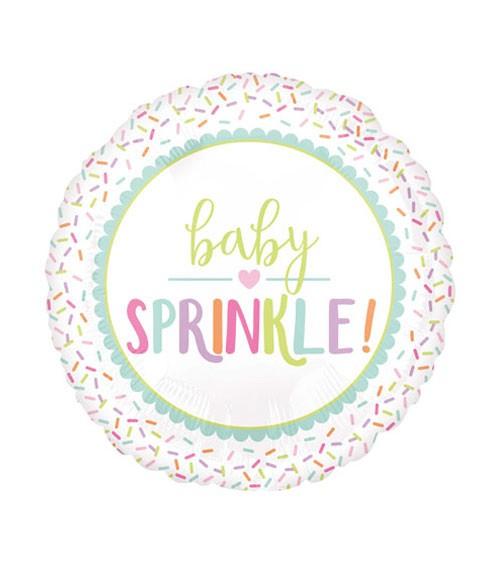 """Folienballon """"Baby Sprinkle"""" - 43 cm"""