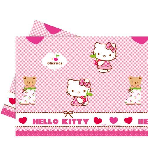 """Kunststoff-Tischdecke """"Hello Kitty"""" - 120 x 180 cm"""