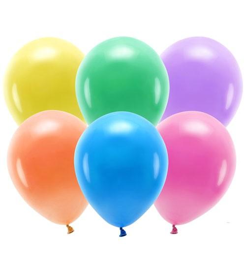 Standard-Ballons - Farbmix - 30 cm - 10 Stück